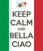 keep calm and bella ciao